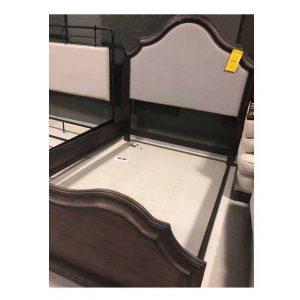 Bed – Queen – Wood Upholstered