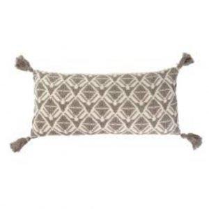 15×32 Stella Bolster Pillow, Stone