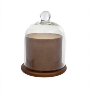 Cloche Candle L Frosted Mocha