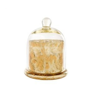 Cloche Candle Gold L