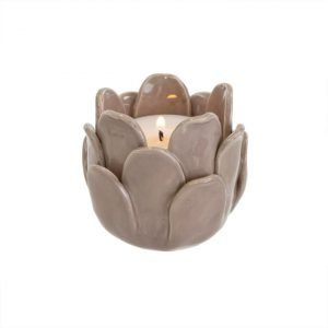 Blossom Tealight Taupe