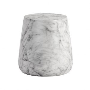 Aries White Side Table